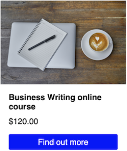 Find out more about the Business Writing online course