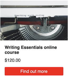 Find out more about the Writing Essentials online course – for journalism, media and communications writing
